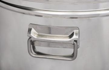 Δοχείο ανοξείδωτο(inox) λαδιού 110lt