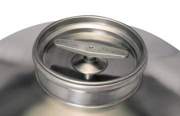 Δοχείο ανοξείδωτο(inox) λαδιού αεροστεγές πώμα 20lt