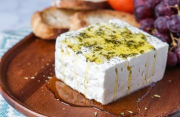Κατσικίσιο τυρί Λιδωρίκι (λευκό)
