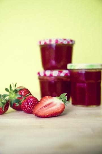 Μαρμελάδα χωρίς ζάχαρη-Φράουλα