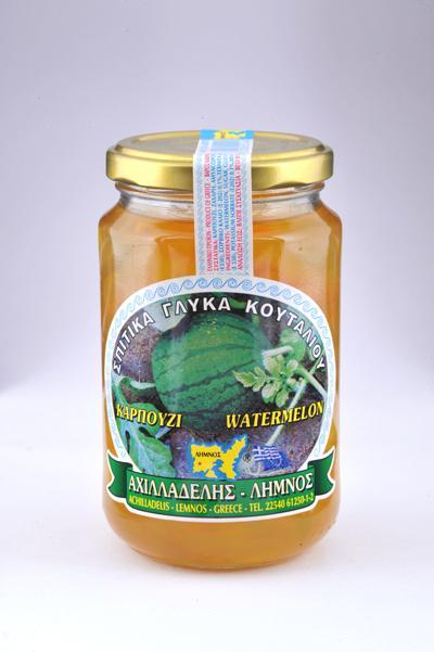 Γλυκό κουταλιού Λήμνου Καρπούζι