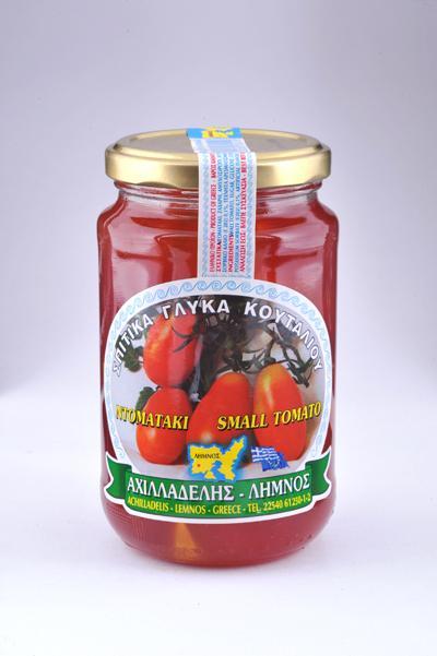 Γλυκό κουταλιού Λήμνου Ντοματάκι