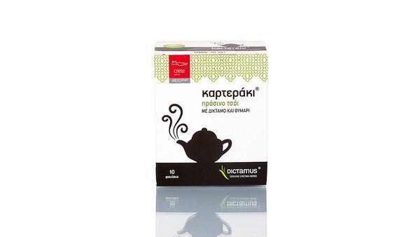 Καρτεράκι πράσινο τσάι
