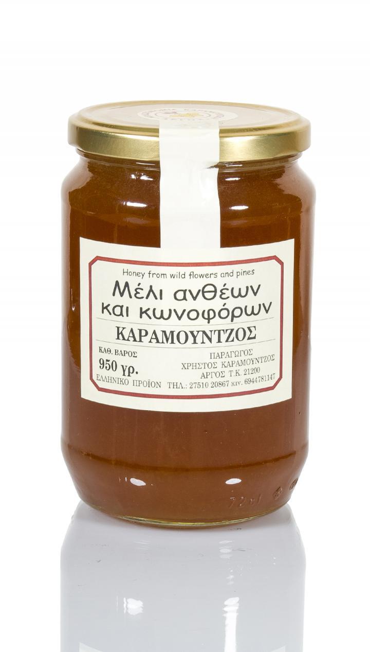 Μέλι ανθέων - κωνοφόρων