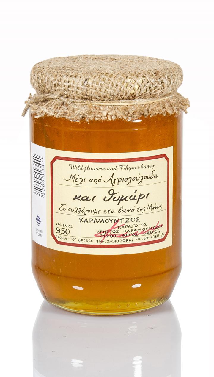 Μέλι θυμαρίσιο - αγριολούλουδα