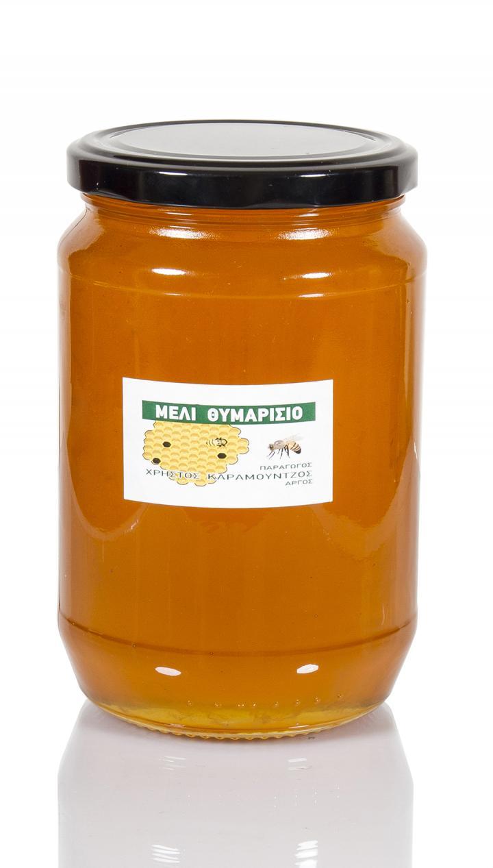 Μέλι θυμαρίσιο Καραμούντζος