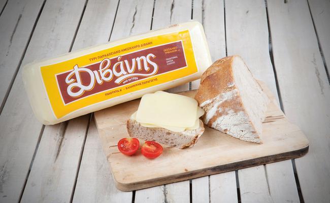 Τυρί ημίσκληρο για τοστ Διβάνης
