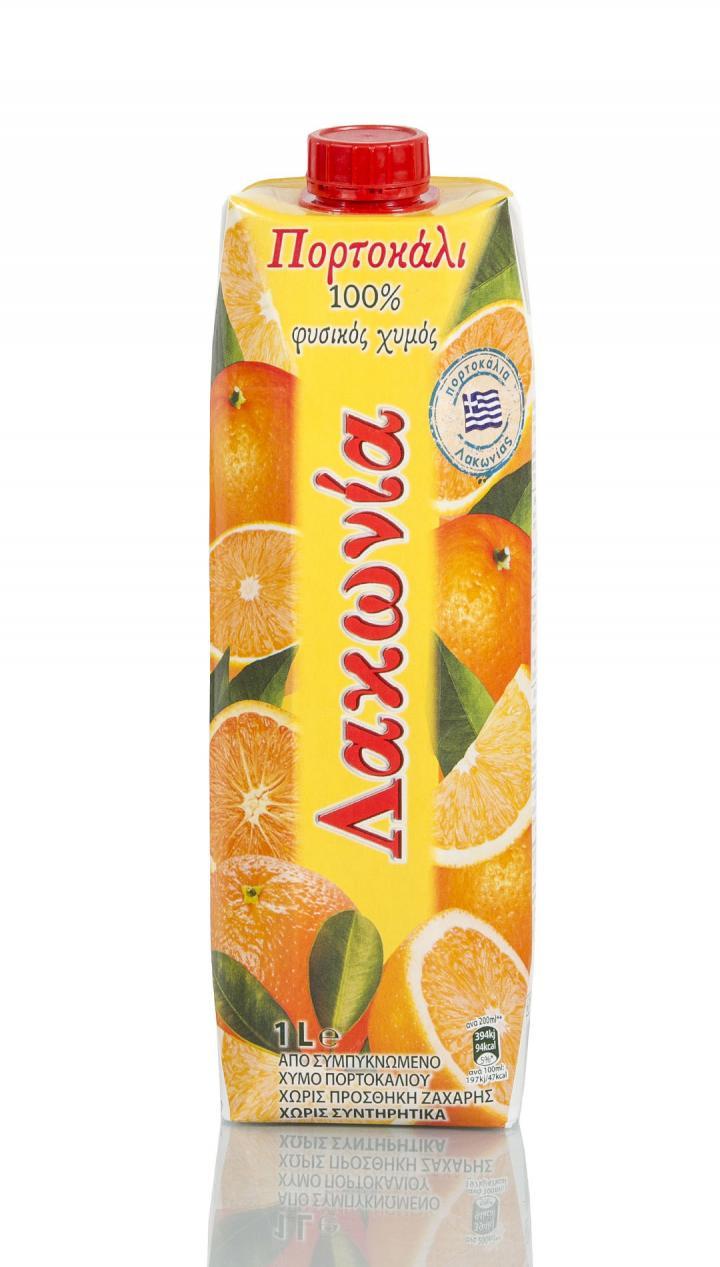 Χυμός φυσικός πορτοκάλι
